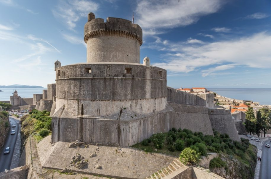 Minceta Fortress Walls of Dubrovnik