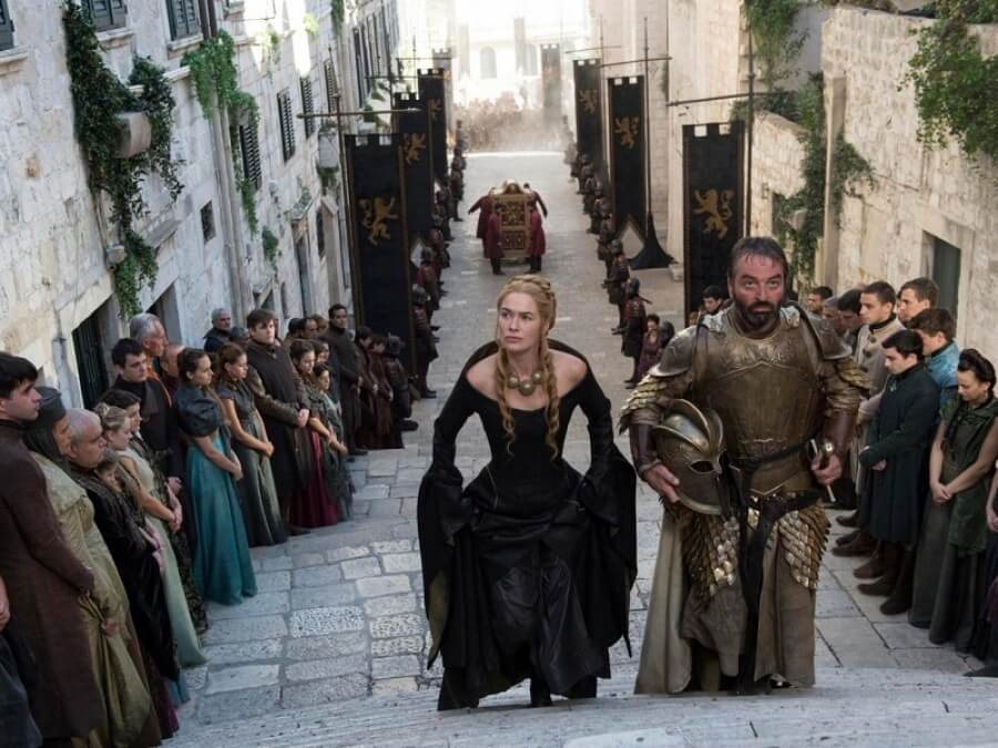 Cersei game of thrones Dubrovnik
