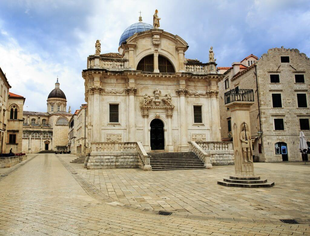 Saint Blaise church Dubrovnik