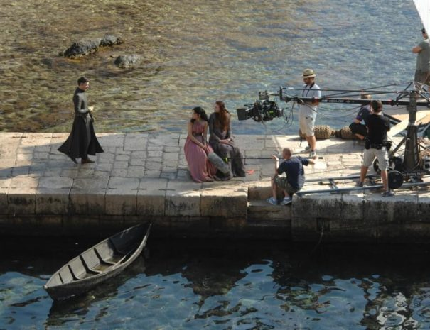 Game of thrones cast in Dubrovnik