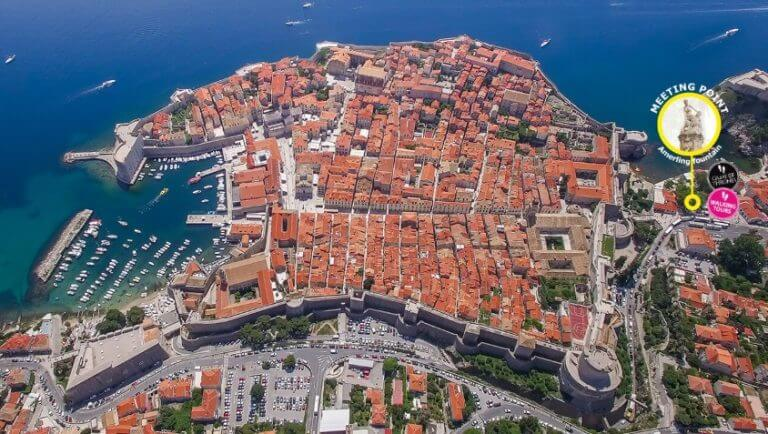 Walls of Dubrovnik Tour Meeting point