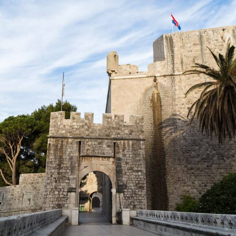 Ploce Gate Walls of Dubrovnik
