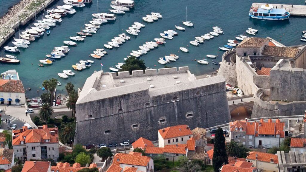Revelin Fortress Walls of Dubrovnik